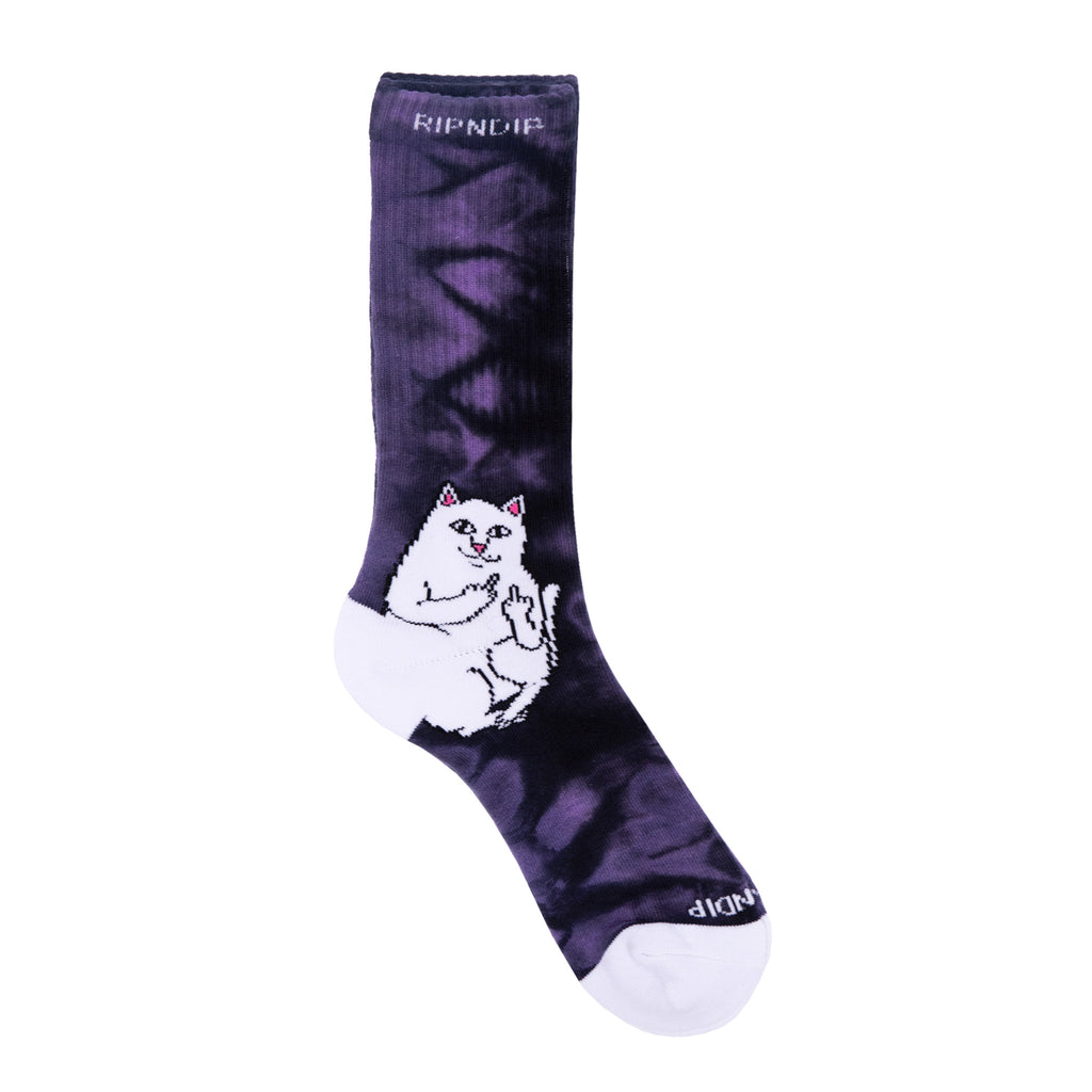Lord Nermal Socks (Purple Lightning)