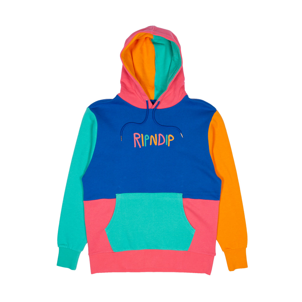 3273f7c8760 Color Block Multi Panel Hoodie (Multi)
