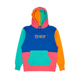 Color Block Multi Panel Hoodie (Multi)
