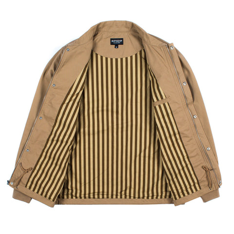 Neighborhood Watch Coach Jacket (Tan)