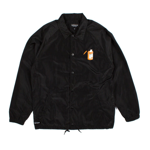 Nermal Pills Coach Jacket (Black)