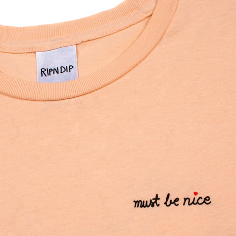 Must Be Nice Tee (Salmon)