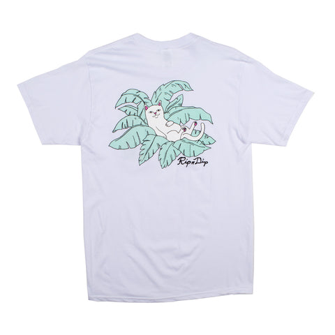 Nermal Leaf Pocket Tee (White)