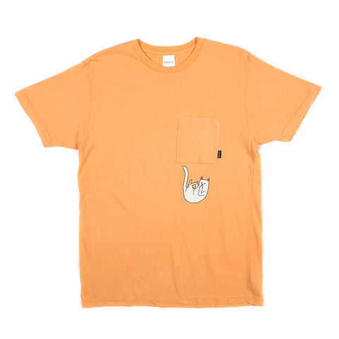 Falling For Nermal Pocket Tee (Peach)