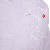 Ladies Man L/S (Heather Grey)
