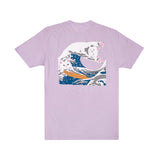 The Great Wave Of Nerm Tee (Lavender)