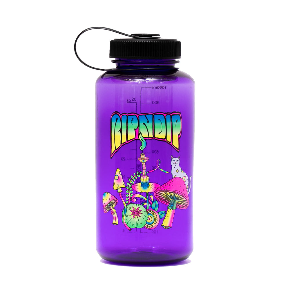 Psychedelic Water Bottle (Purple)