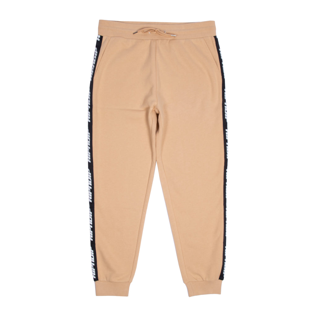 Taped Sweat Pants (Tan)