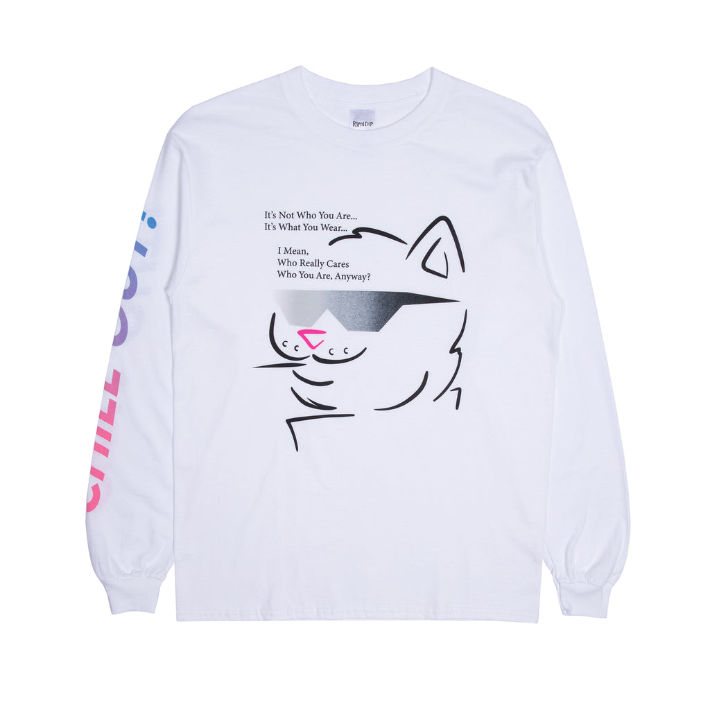 Chill Out L/S (White)