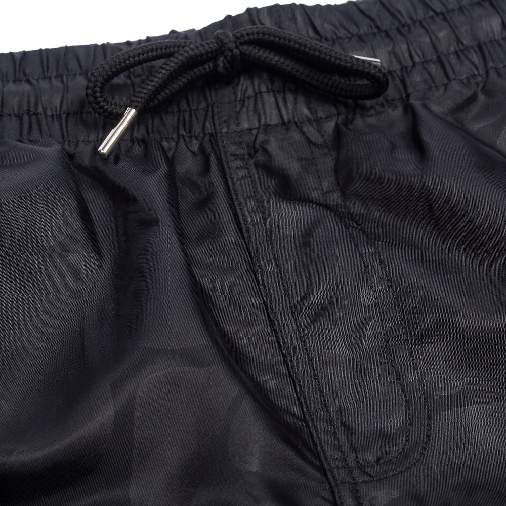 Black Out Nylon Shorts (Black Out Camo)