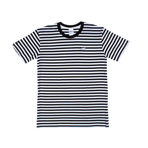 Castanza Stripe Tee (Black)