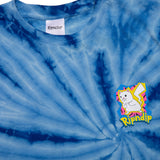Catch Em All Tee (Blue Spiral Dye)
