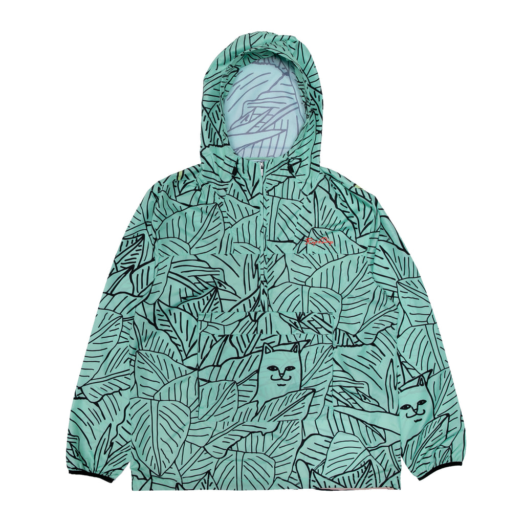 Nermal Portrait Packable Anorak Jacket (Green)