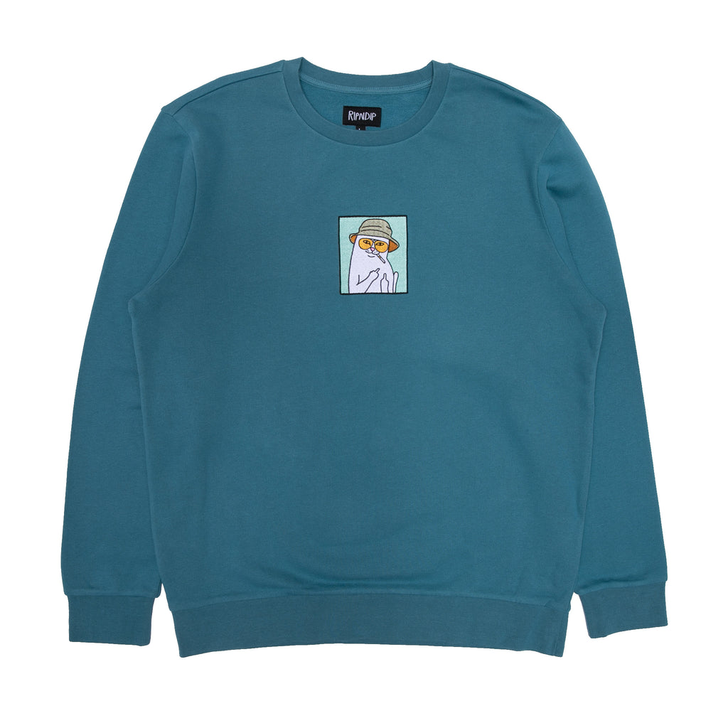 Nermal S. Thompson Crewneck (Slate)
