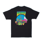 Psychedelic Nermal Pocket Tee (Black)