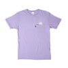 A Nermal Splash Pocket Tee (Lavender)