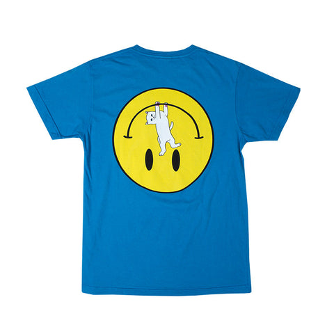 Everything'll Be OK Pocket Tee (Blue)