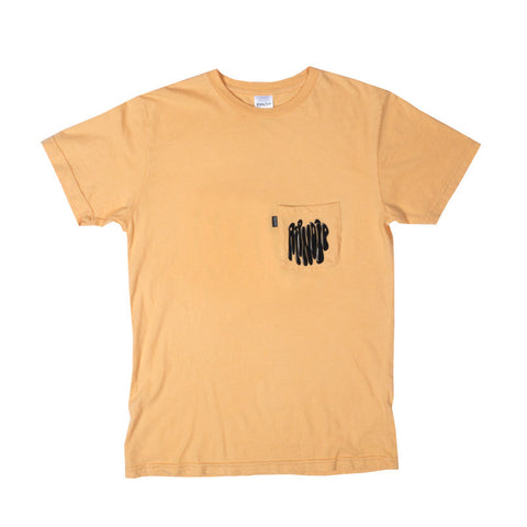 Ring Around Nermal Pocket Tee (Cream Orange)