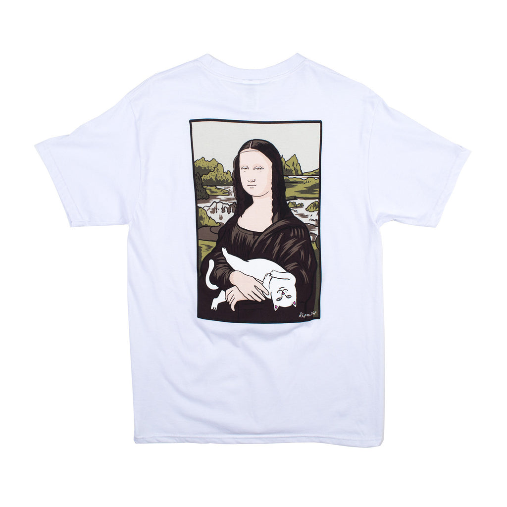 Nermal Lisa Pocket Tee (White)