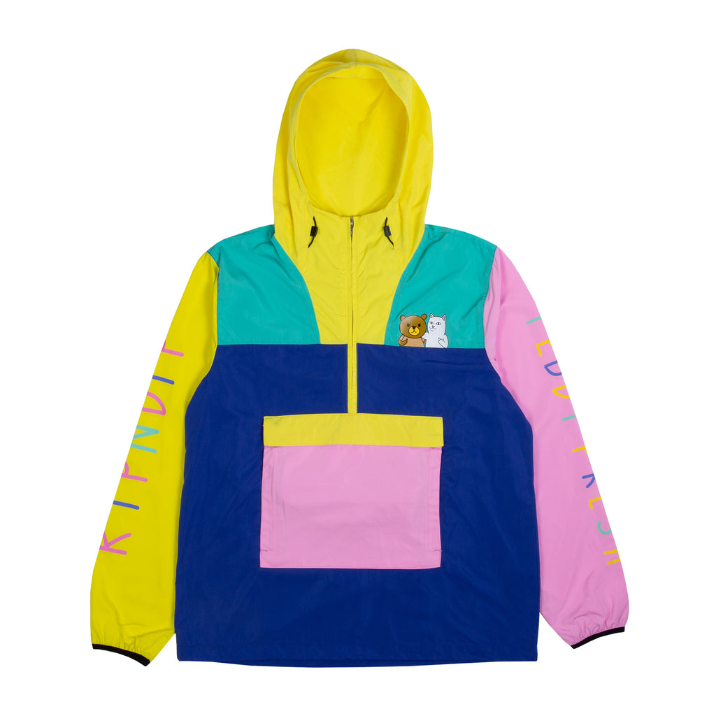 Ripndip Teddy Fresh Packable Anorak Jacket (Multi)