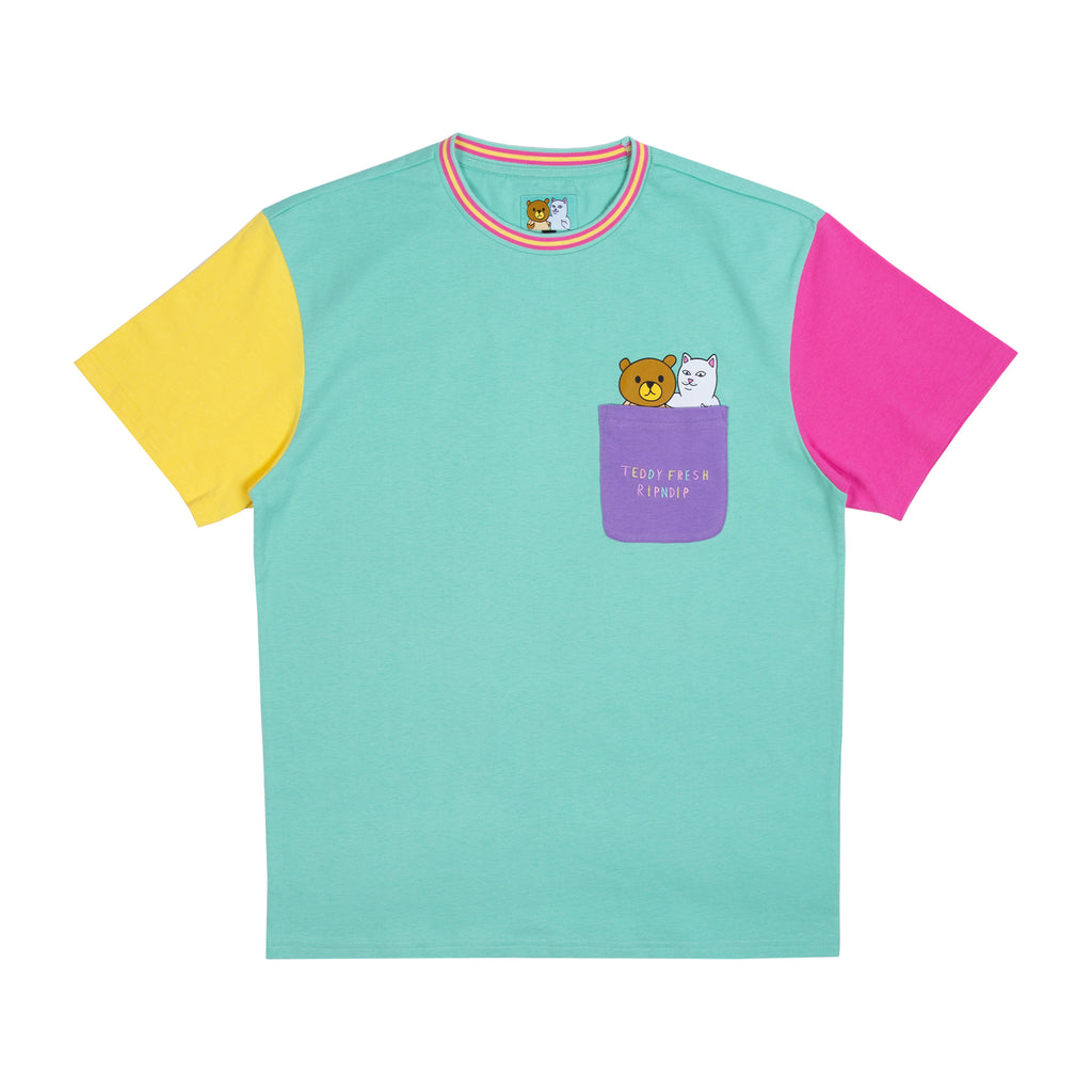 Ripndip Teddy Fresh 2.0 Color Block Tee (Multi)