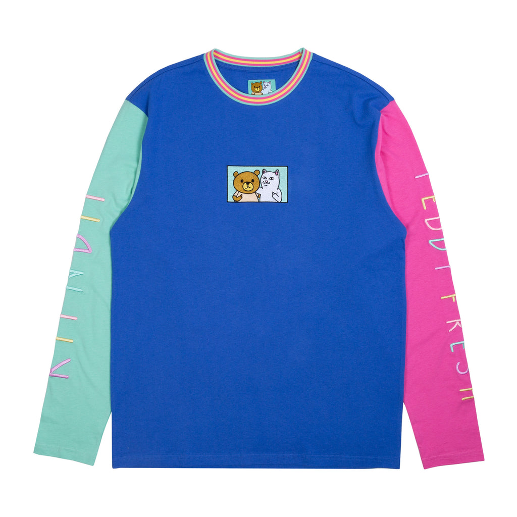 Ripndip Teddy Fresh 2.0 Color Block L/S (Multi)