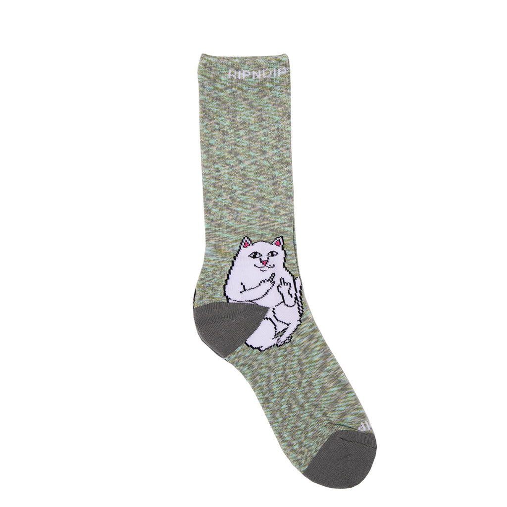 Lord Nermal Socks (Gray Speckle)