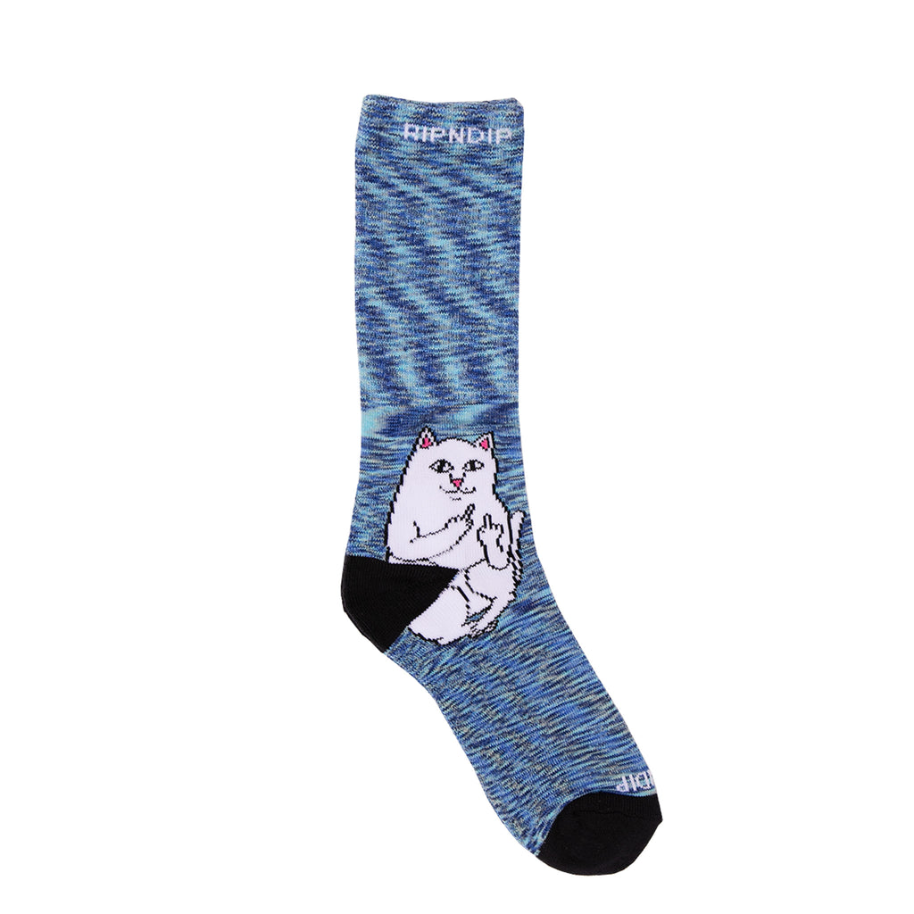 Lord Nermal Socks (Navy Speckle)