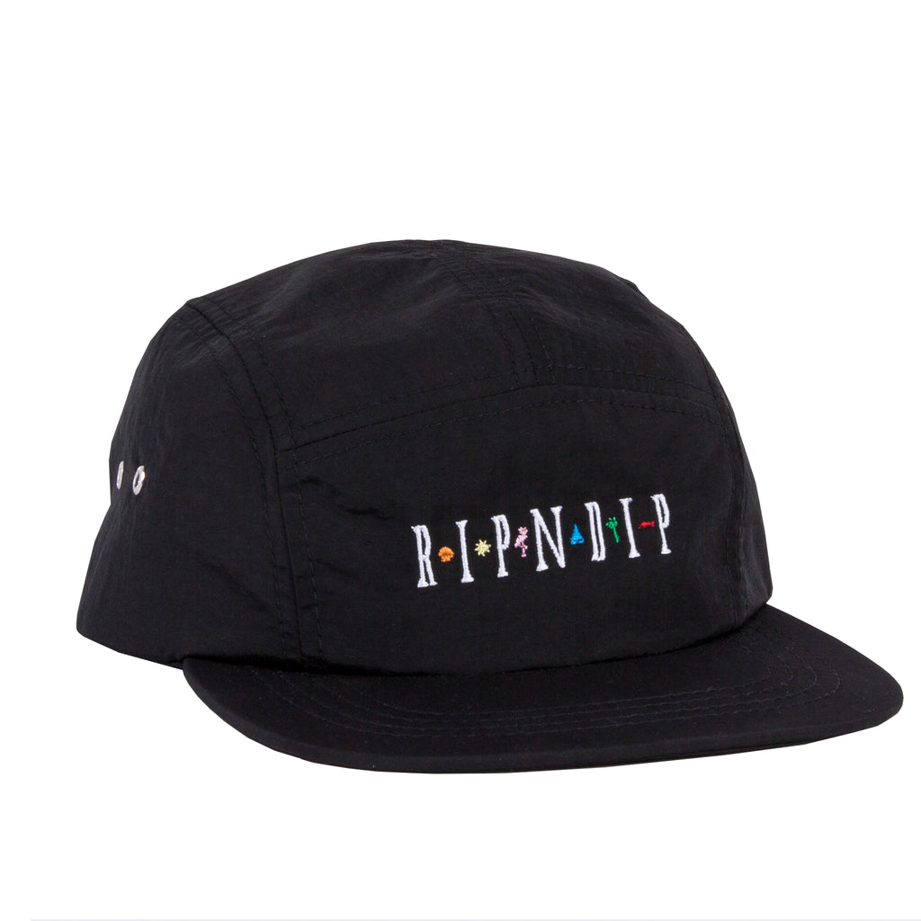 121b3612f0d Islander Camp Cap (Black). Click to zoom