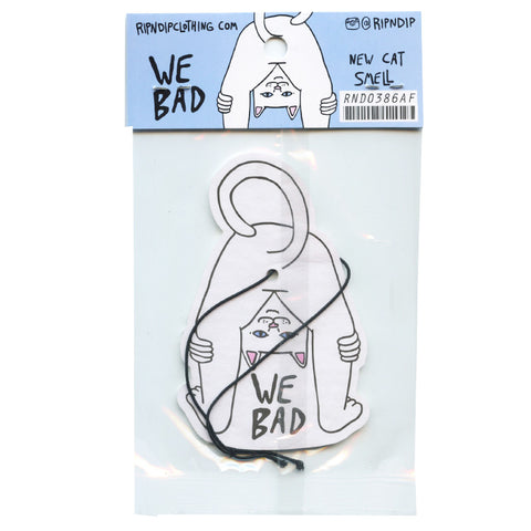 We Bad Cat Air Freshener