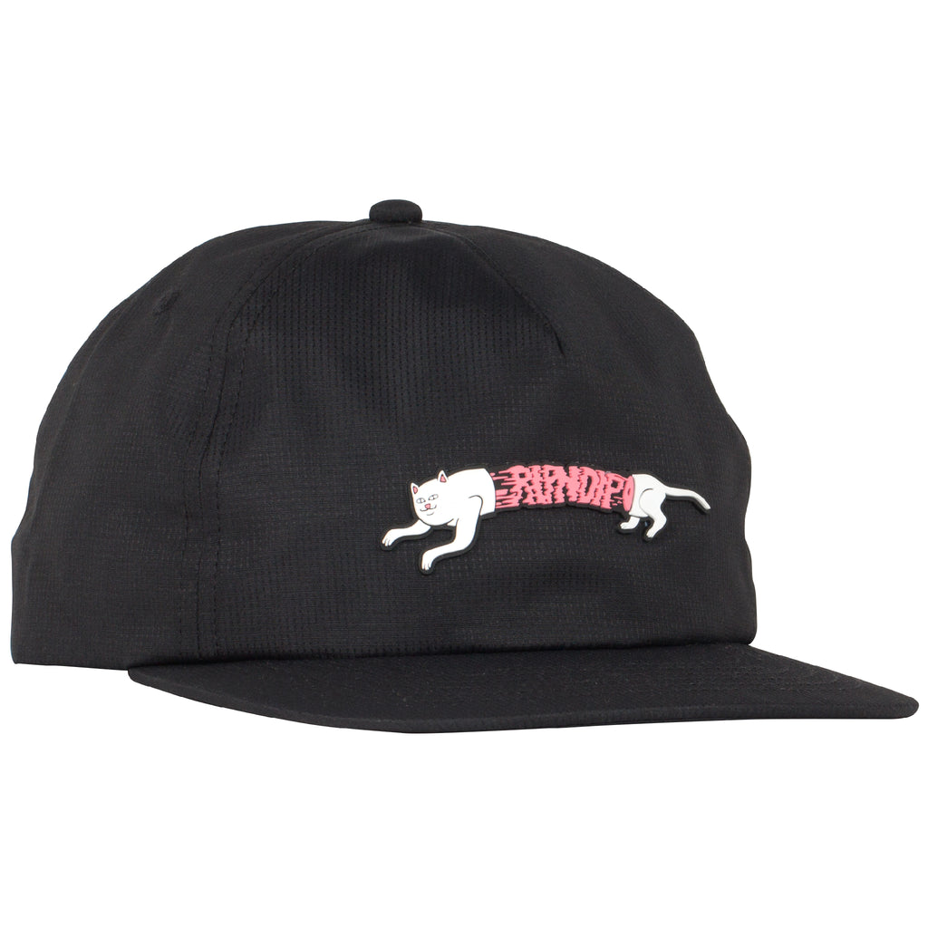 Zipperface 6 Panel Snapback (Black)