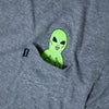 LORD ALIEN GREY POCKET TEE
