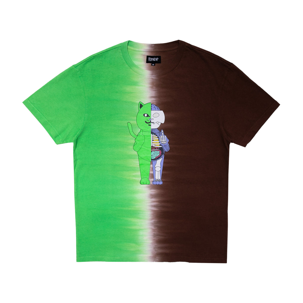 R Nerm Æ-09 Anatomy Tee (Green/Brown)