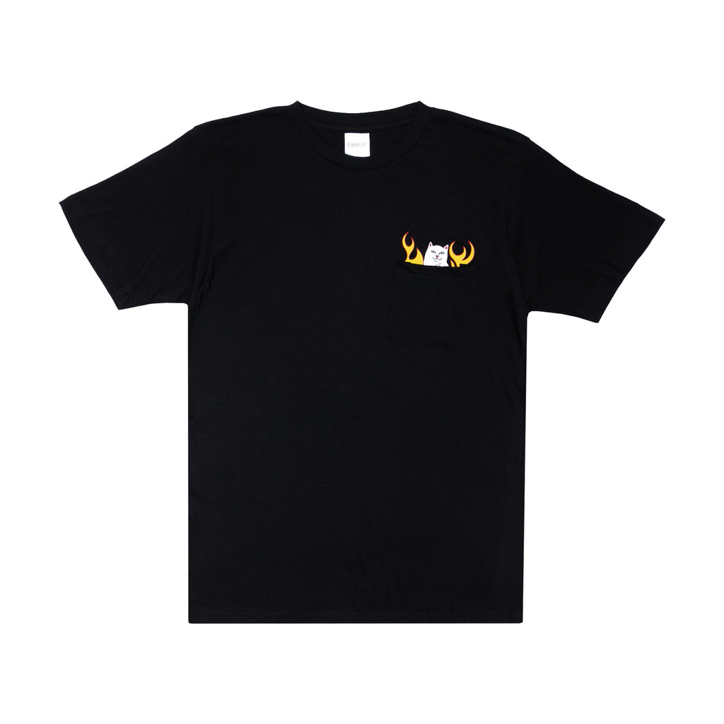 Welcome to Heck Pocket Tee (Black)