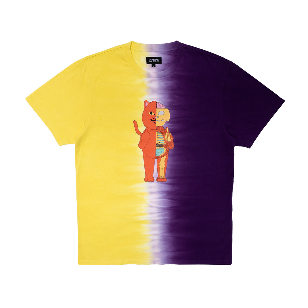Devil Anatomy Tee (Gold/Purple)