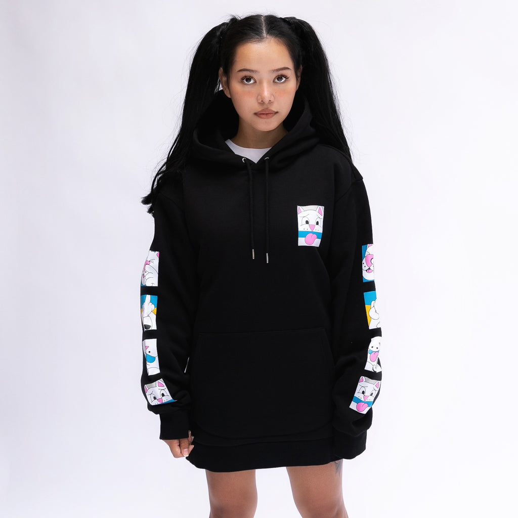 Tongue Tied Hoodie (Black)