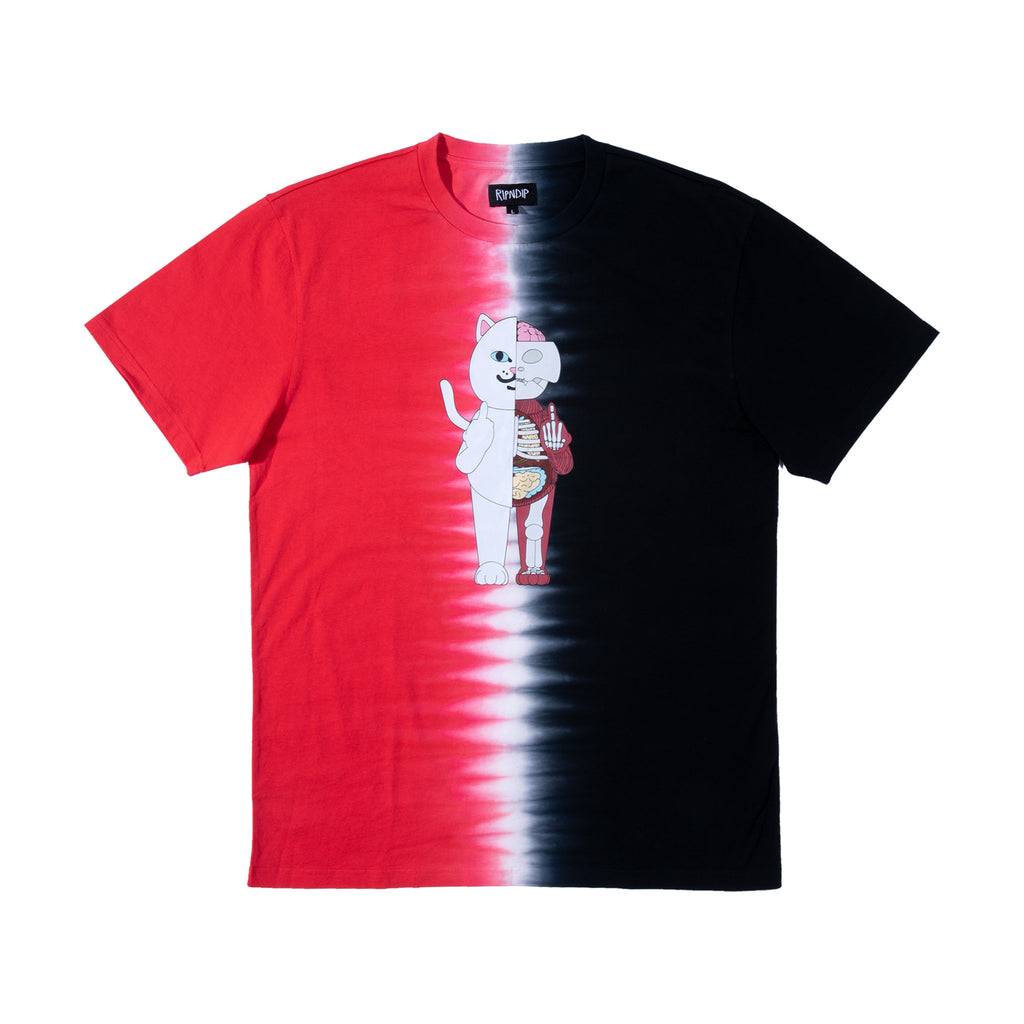 Nerm Anatomy Tee (Red/Black)