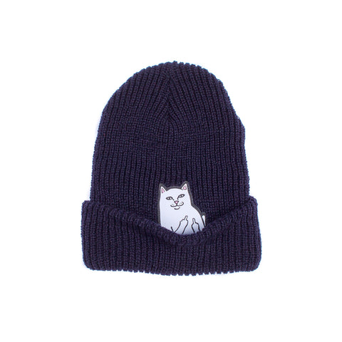 Lord Nermal Ribbed Beanie (Navy)
