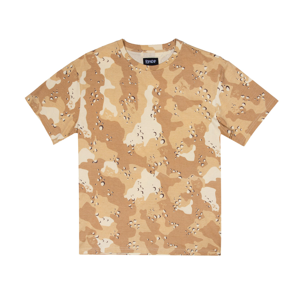 Nerm Camo All Over Tee (Choc Chip Camo)