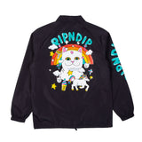 Nermland Coaches Jacket (Black)