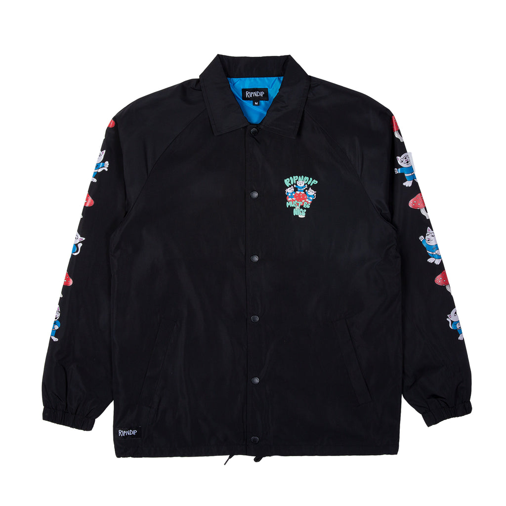 Alien Nerm Coaches Jacket (Black)