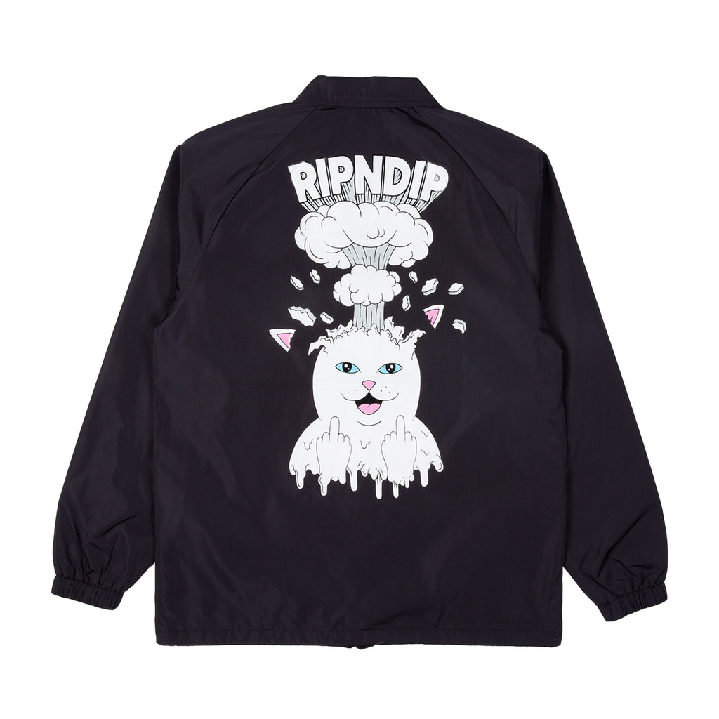 Mind Blown Coaches Jacket (Black)