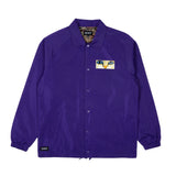 Van Nermal Coaches Jacket (Purple)