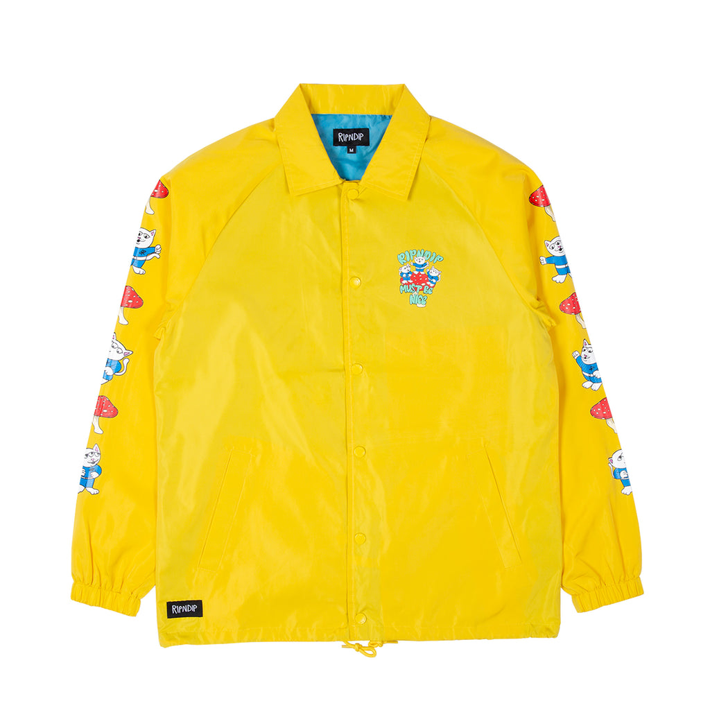 Alien Nerm Coaches Jacket (Gold)