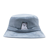 Lord Nermal Bucket Hat (Slate)