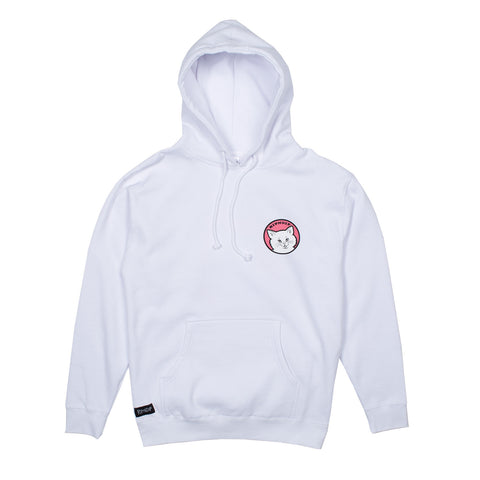 Stop Being A PussyHoodie (White)