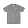 Candy Cane Nermal Pocket Tee (Grey)