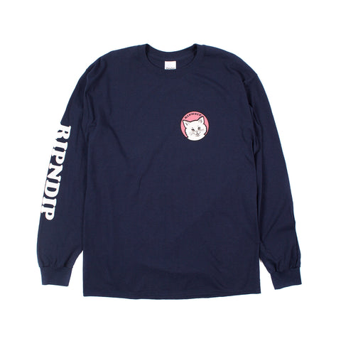 Stop Being a Pussy L/S (Navy)
