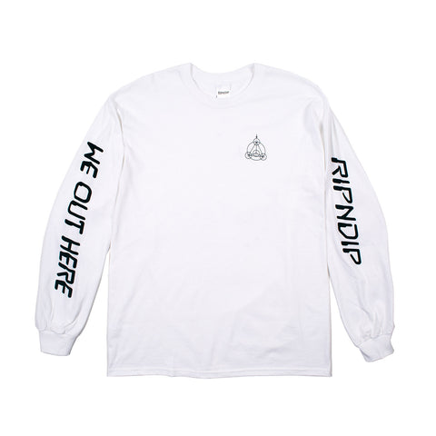 Crop Circles L/S (White)
