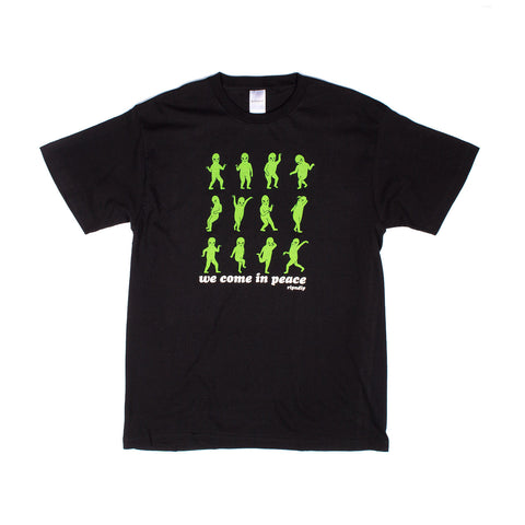 We Come in Dance Shirt (Black)